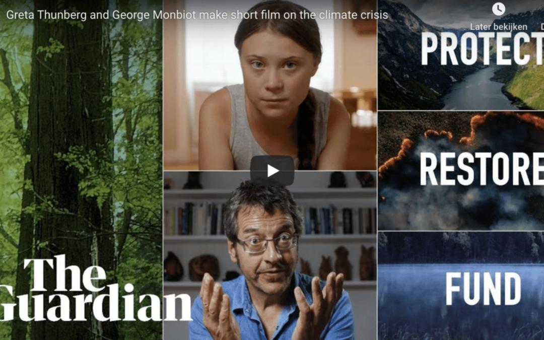 Gratis Lesbrief: Greta Thunberg 'Nature Now'